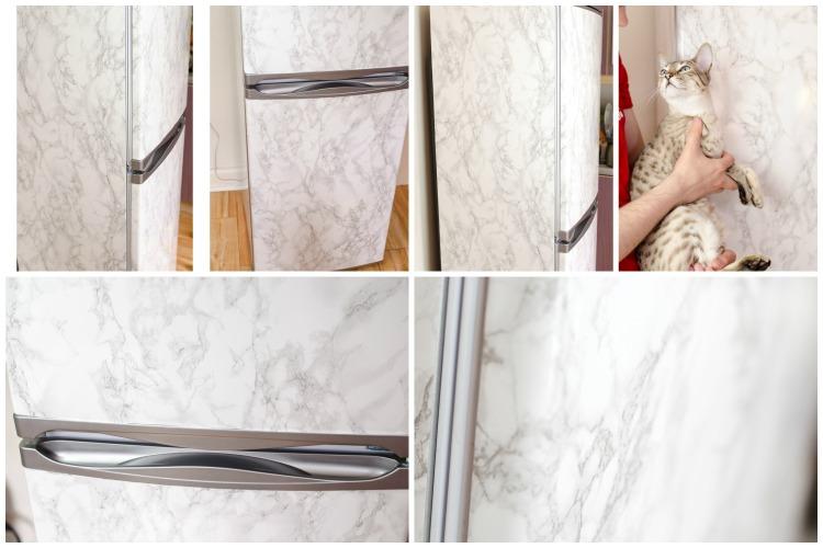 fridge marble